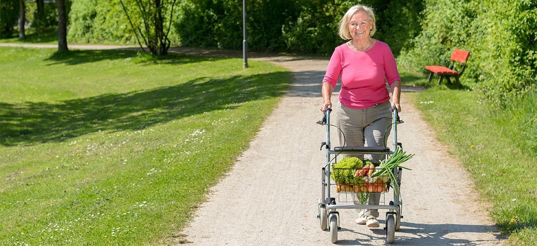 beweglich - Alltags- und Pflegehilfen, Rollator